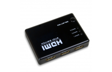 Adaptador triple HDMI Switcher con Mando
