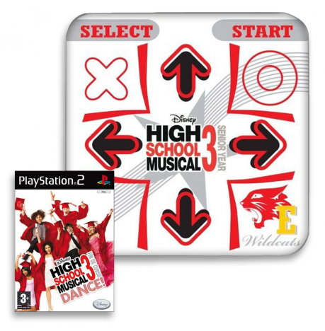 Alfombrilla + Juego High School Musical 3