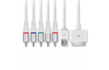 Cable Dock AV Componentes Apple