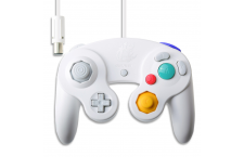 Mando GameCube Ed. Smash Bros. BLANCO