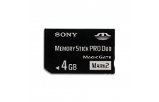 Memory Stick Pro Duo 4 GB SONY