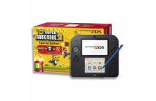 Nintendo 2DS + 'New Super Mario Bros 2' Azul y Negro