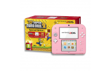 Nintendo 2DS + 'New Super Mario Bros 2' Rosa y Blanco