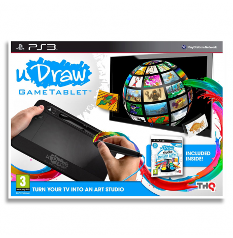 Tablet uDraw + uDraw Studio