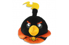 Peluche Angry Birds Space Negro
