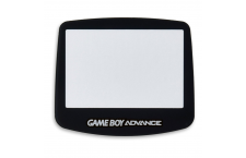 Substituto Ecrã Game Boy Advance Preto.